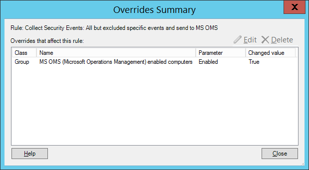 7c - override creation